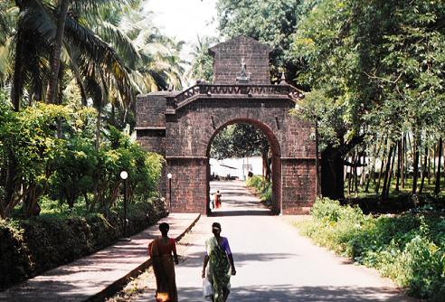 Legado portugués en Goa: Arco dos Vice-Reis, Velha Goa