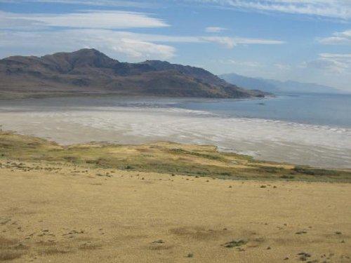 Gran Lago Salado, en Utah