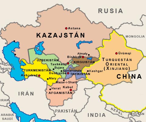 Asia Central made in USA  Cuba en Noticias
