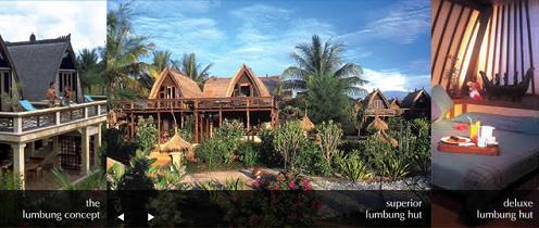 Hotel Vila Ombak, Gili Trawangan, Lombok, Bali