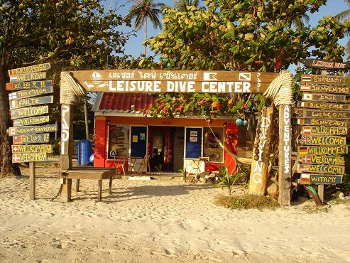 Leisure Dive Center Koh Phi Phi Tailandia