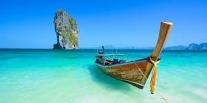 Playa paradisiaca en Asia