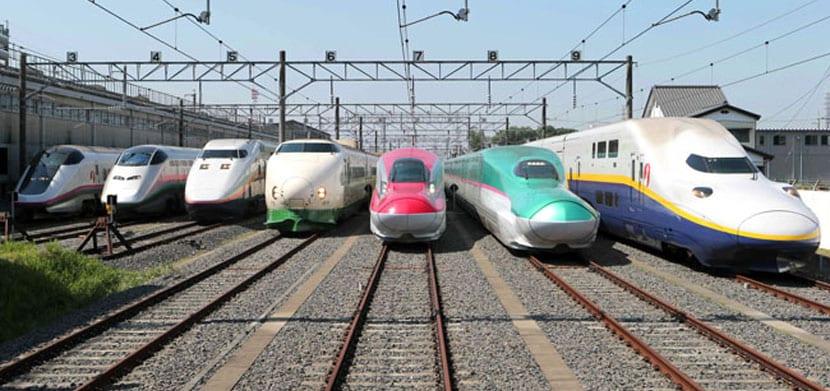 Trenes Bala Japoneses