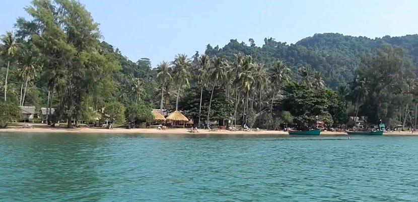 Playa de Koh Tonsay