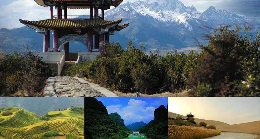 Lugares de China