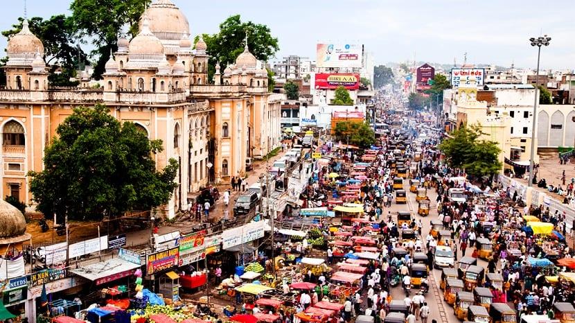 Mercado de la India