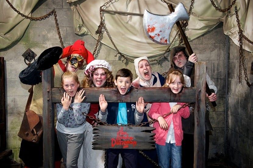 Atracción de la tortura en London Dungeon