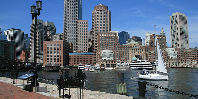 malecon en Boston