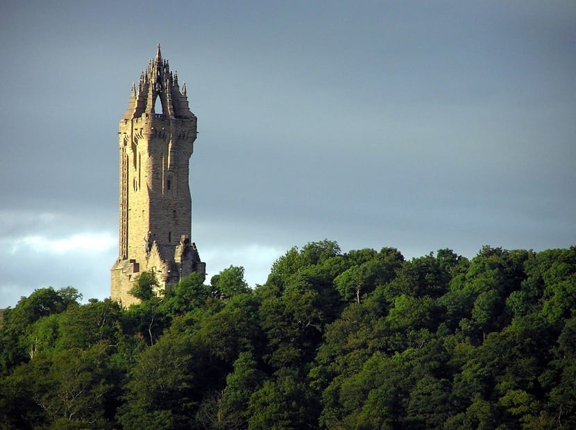Torre William en Escocia