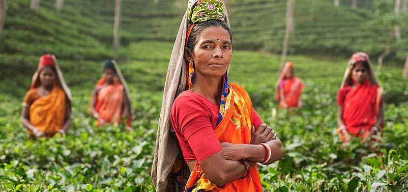 mujer de bangladesh