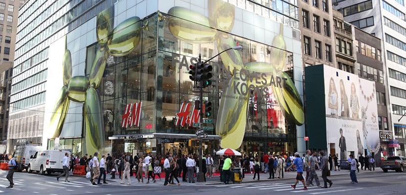 tienda H&M enla Quinta Avenida