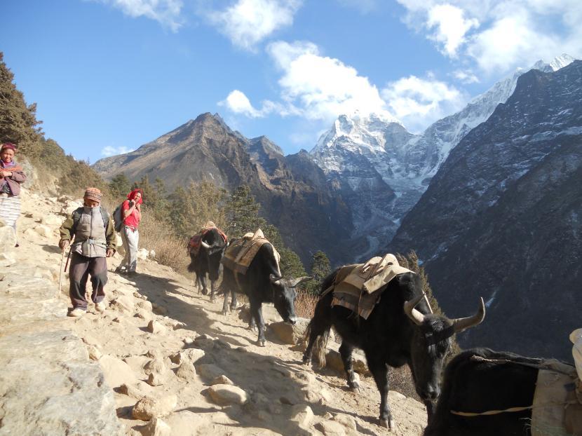Montañas en Nepal