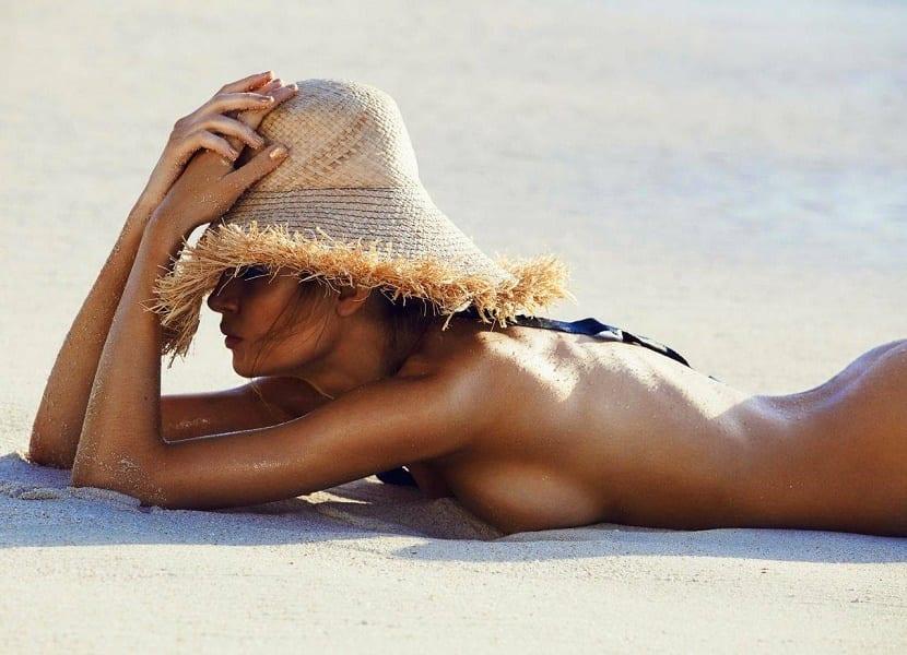 Playa nudista en Punta Cana