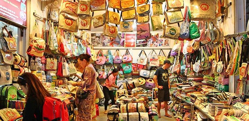 mercadillo en Camboya