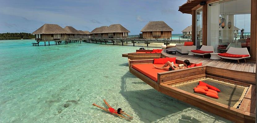 Resort en las Maldivas