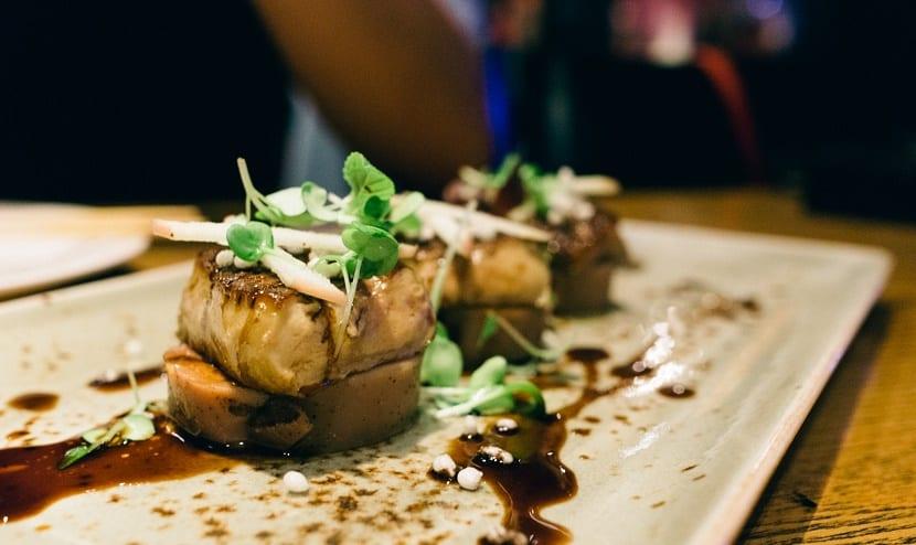 Comida japonesa de alta cocina en Nueva York