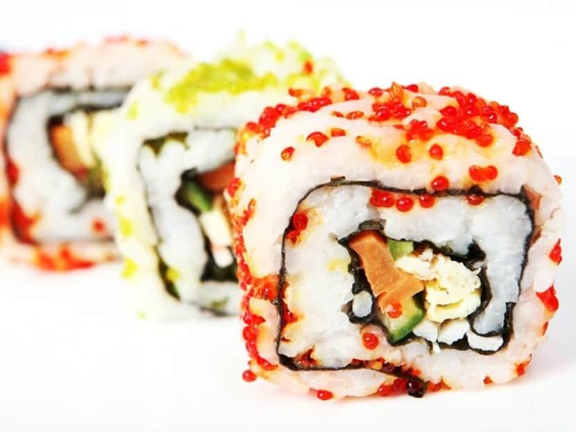 Comer sushi en Nueva York