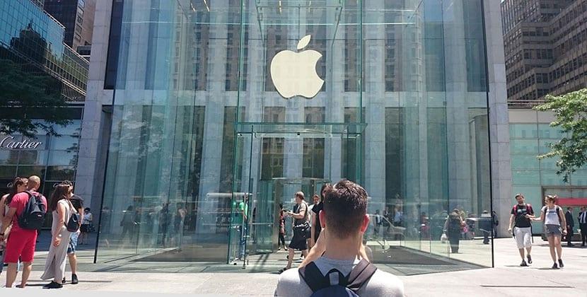 Tienda Apple en la 5 avenida