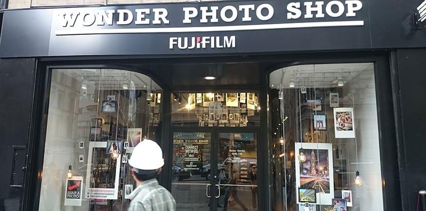 Tienda fujifilm en la Quinta Avenida