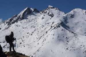 Practicando Trekking en Nepal