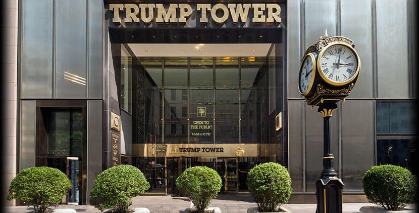 Trump Tower por fuera