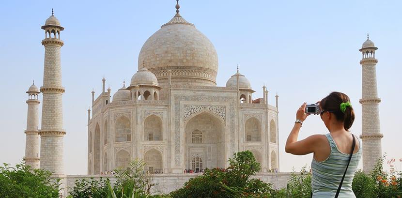 Taj Mahal de perfil