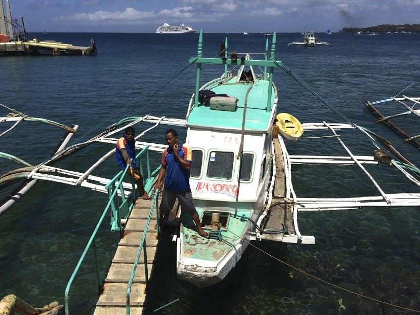 Llegar a Boracay en bote