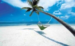 Hamaca en playa de Boracay
