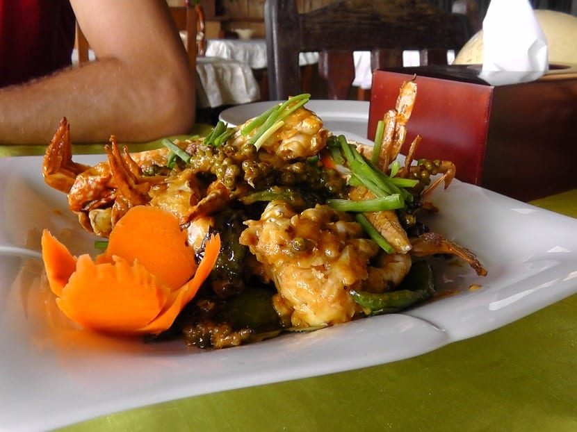 Plato de comida camboyana