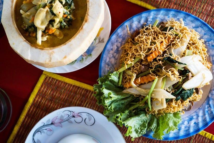 Comida típica de Camboya