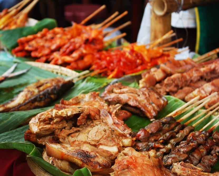 Pinchos filipinos