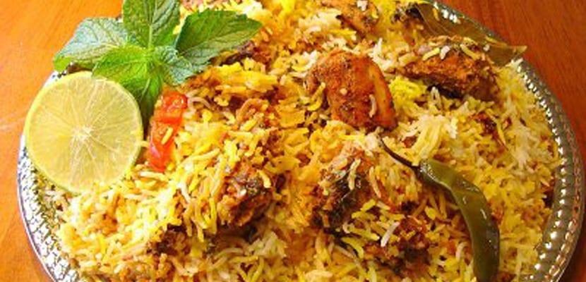 Comida típica en la India
