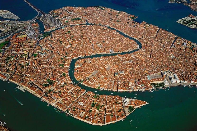 Mapa real Venecia