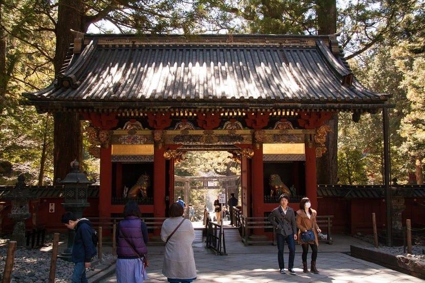 Entrada al templo Toshogu