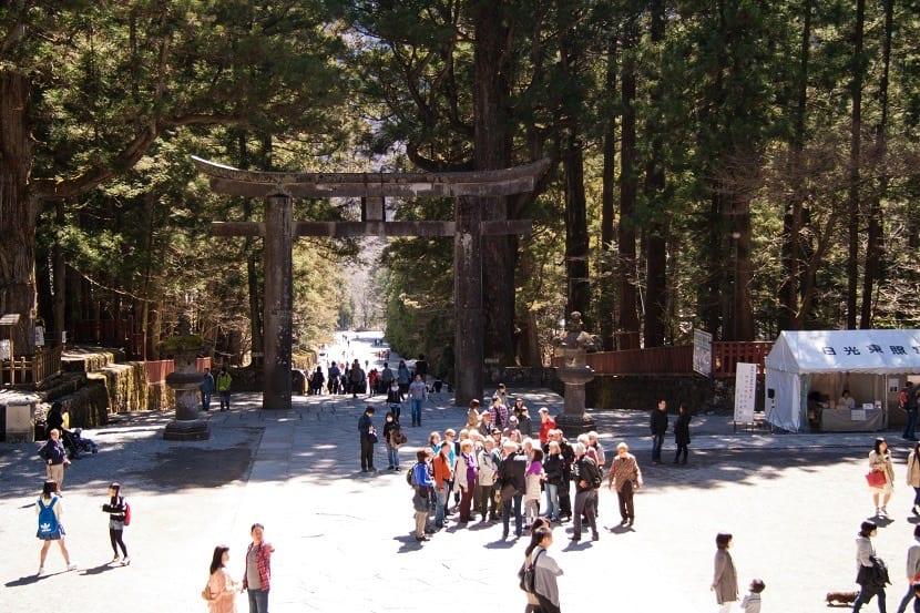 Acceso al Templo de Toshogu