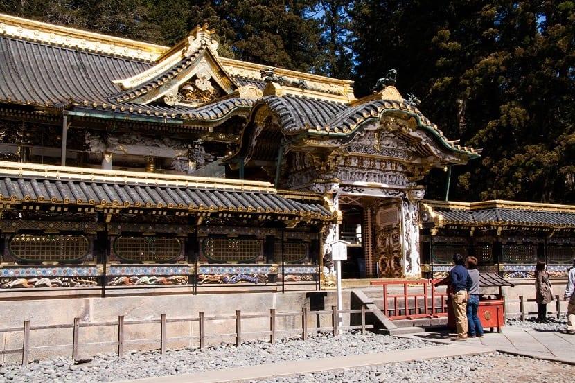 Templo de los tres monos sabios