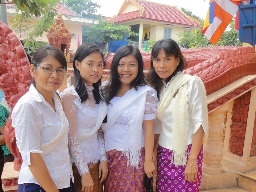 Ropa casual en Camboya