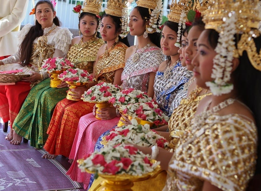 Mujeres de Camboya