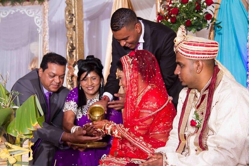 Tradiciones en familias Indias