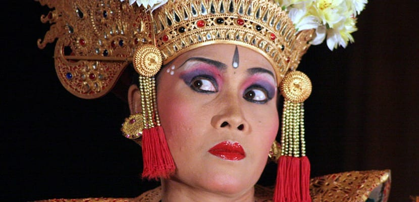 Danza Bali típica de Indonesia