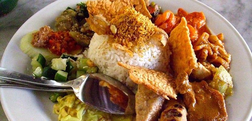 Gastronomía típica de Idonesia