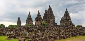 Templo típico de Indonesia