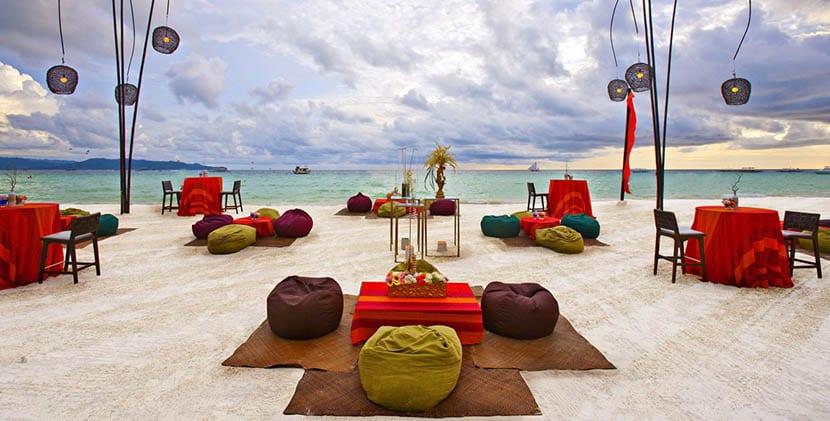 Playa en Filipinas