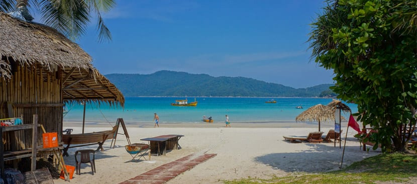 Islas Perphentian en Malasia