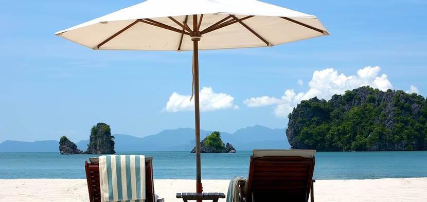 playa de langwaki en malasia