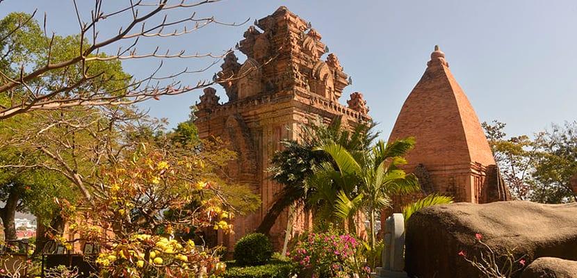 Templo de la playa Nha Trang