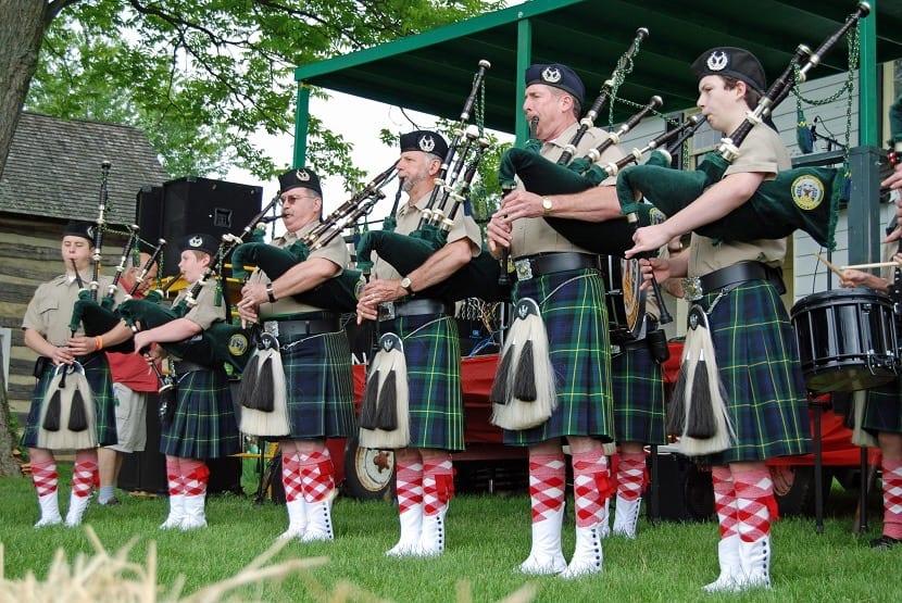 Fiesta en escocia