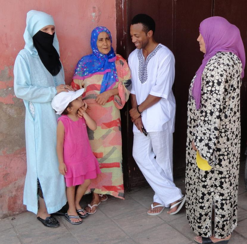 Familia Marroquí
