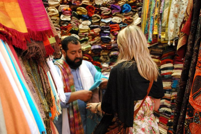 Regateo en Marruecos