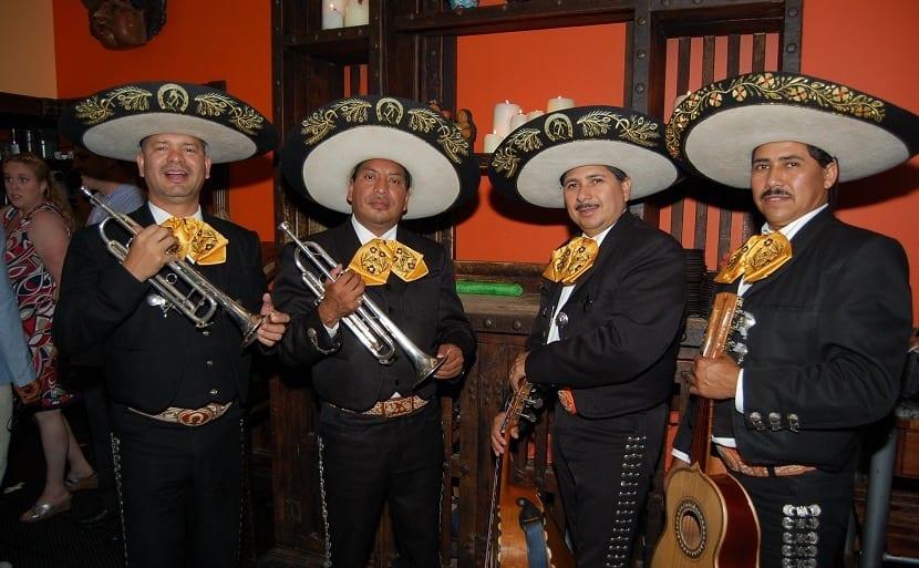 Instrumentos de los mariachis
